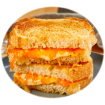 Three Cheese–Grilled Cheese Sandwich